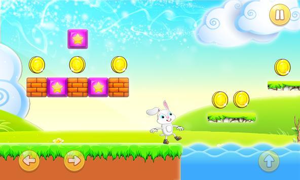 Bunny Run Of Mario poster