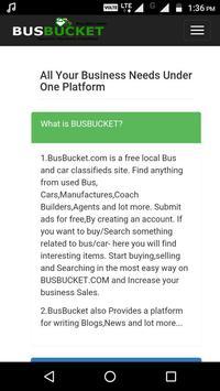 BusBucket Seller poster