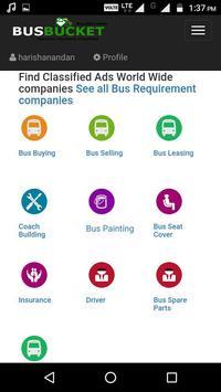 BusBucket Seller apk screenshot