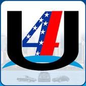 4 U Luxury Car Service App icon