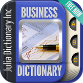 Business Terms Dictionary icon