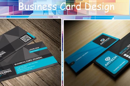 Design Your Name Card poster