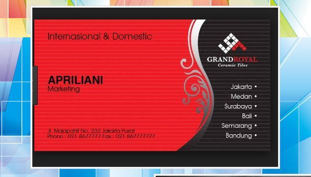 Design Your Name Card apk screenshot