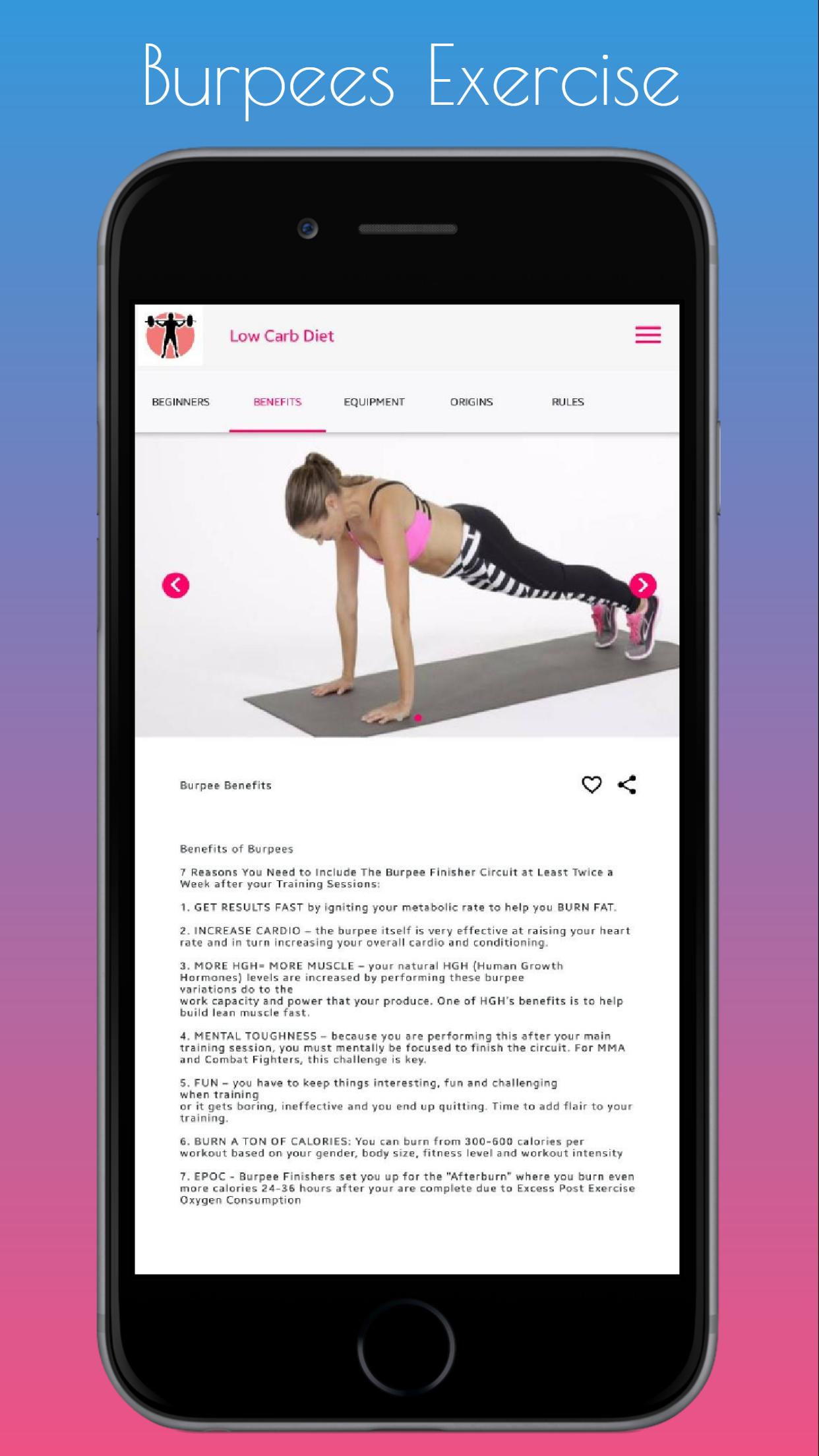 Burpees Exercise for Android - APK Download