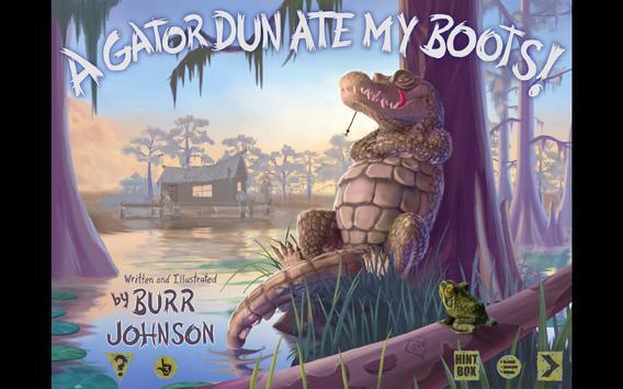 Gator Dun Ate My Boots apk screenshot