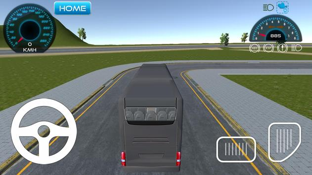Indonesia bus simulator apk screenshot