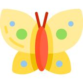 Butterfly Art Live Wallpaper icon