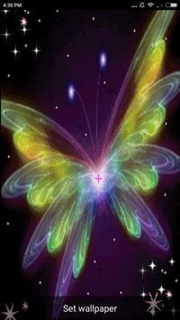 Butterfly Art Live Wallpaper screenshot 4