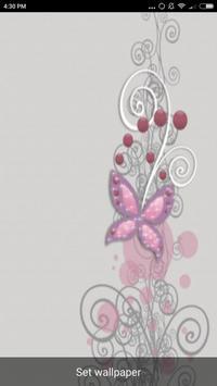 Butterfly Art Live Wallpaper screenshot 2