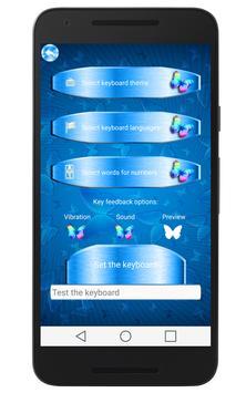 Butterfly Keyboard Theme εїз apk screenshot