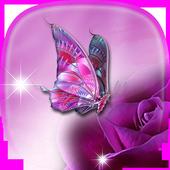 Mariposas Fondos de Pantallas con Movimiento ღ icono