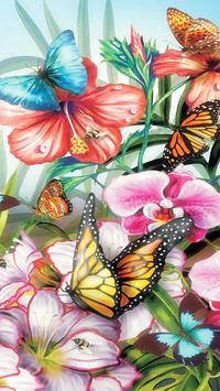 Mariposas Fondos de Pantallas con Movimiento ღ Poster
