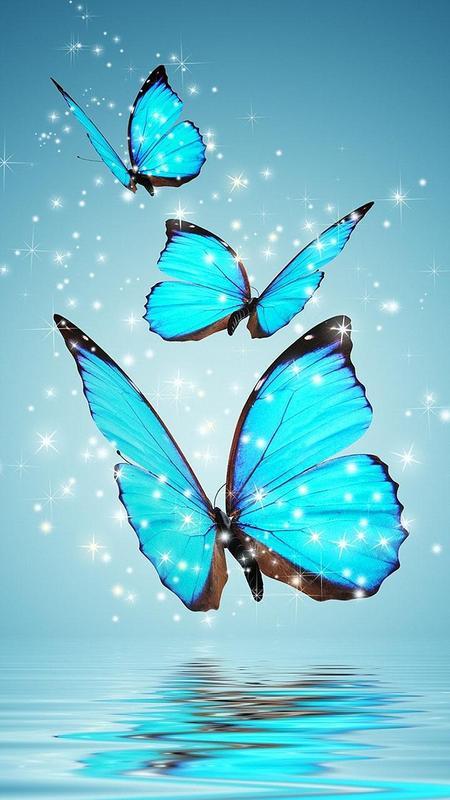 Butterfly Live Wallpaper Animated Butterflies Apk Screenshot