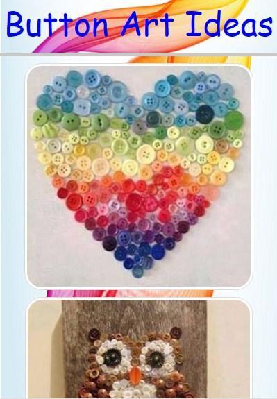 Button Art Ideas poster