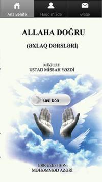 ALLAHA DOĞRU poster