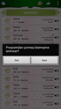 Qurani Kərim (Azərbaycan) apk screenshot