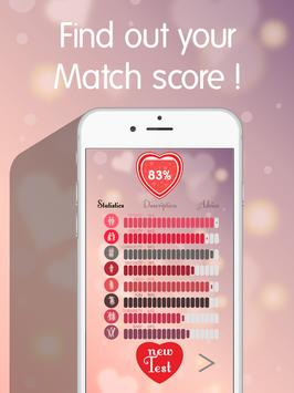 Love Test - Match your Friends apk screenshot