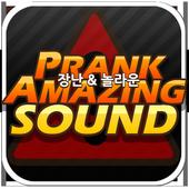 Prank&Amazing Sound 놀라운 듣지마사운드 icon