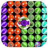 Candy shooter 3D Game icon