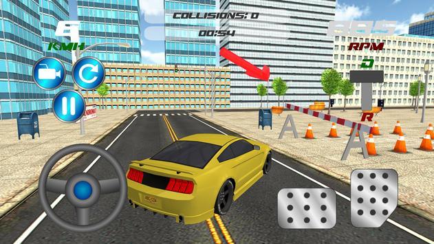 Muscle Car Parking Simulator apk screenshot