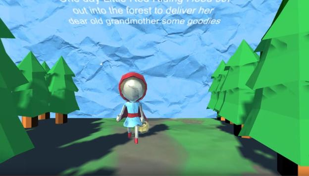 Little Red Riding Hood VR poster