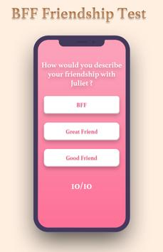 BFF Friendship Test screenshot 1