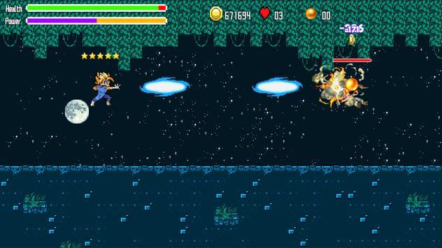 Battle Of Super Saiyan Blue apk screenshot