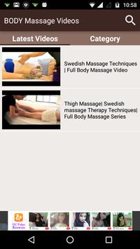 BODY Massage Videos screenshot 1