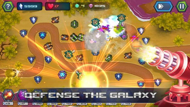 Galaxy Defense Tower Commander apk screenshot