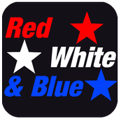 Red White and Blue icon