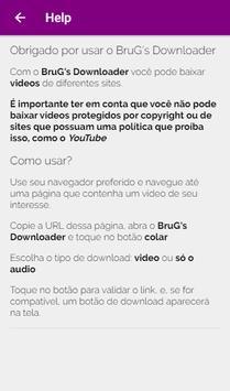 BruG Downloader screenshot 1