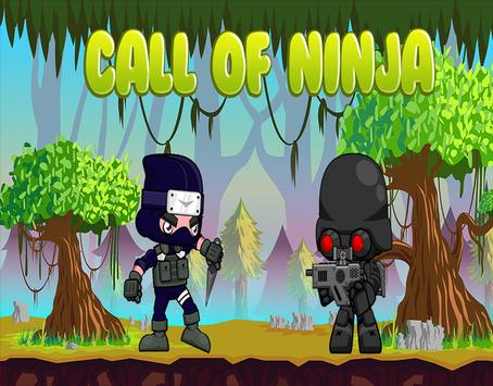 Call of Ninja: Adventure Time poster