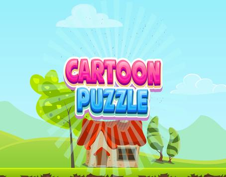 Cartoon Puzzle - Kids Game poster