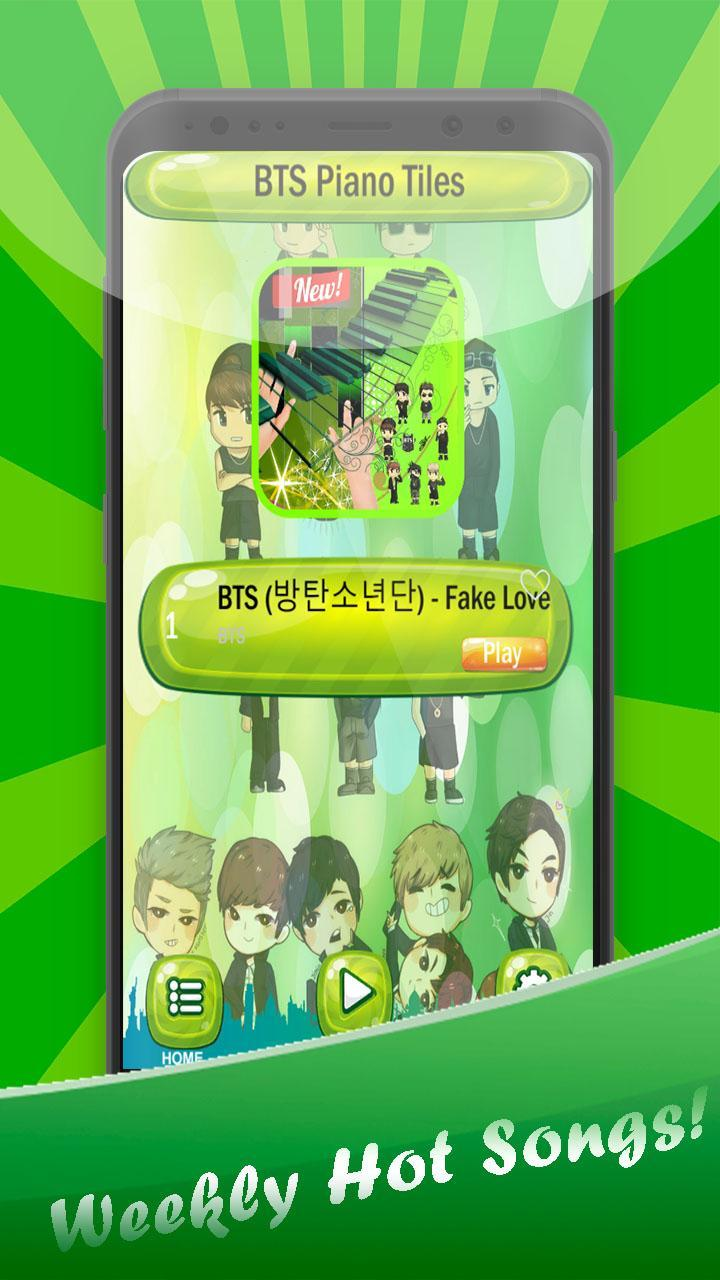 Fake Love Roblox Piano Fake Love Bts Piano Tiles For Android Apk Download