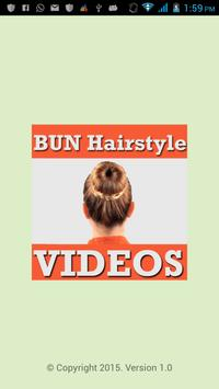 BUN Hairstyles Step VIDEOs APK Download Free Entertainment APP - Bun hairstyle crossword clue
