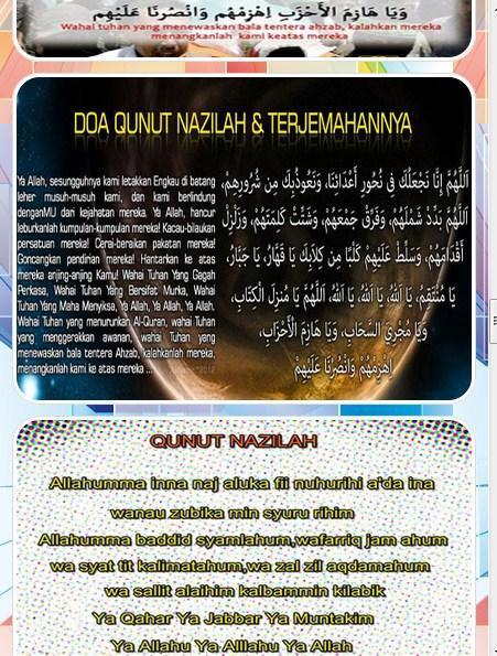 Bacaan Doa Qunut Lengkap For Android Apk Download