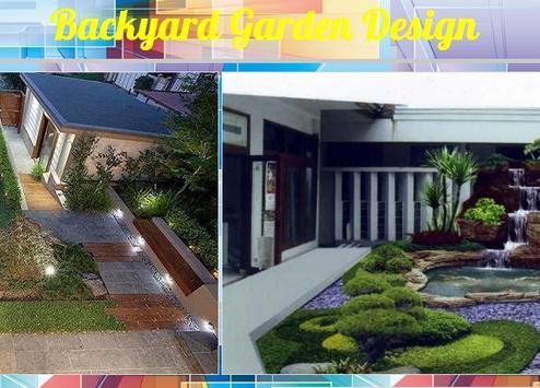 Backyard Garden Design screenshot 1