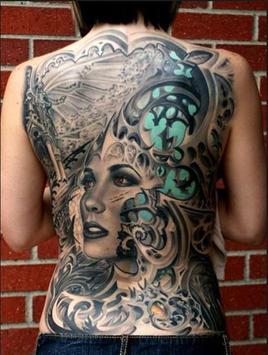 Back Tattoo Ideas screenshot 5