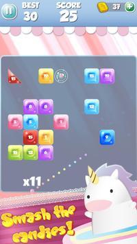 UNICORN SMASH - Candy brick breaker ballz poster