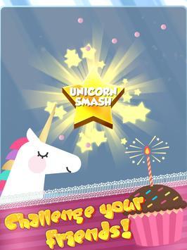 UNICORN SMASH - Candy brick breaker ballz screenshot 11