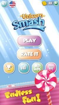UNICORN SMASH - Candy brick breaker ballz screenshot 1
