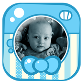 Baby Boy Photo Frame Pic Story icon