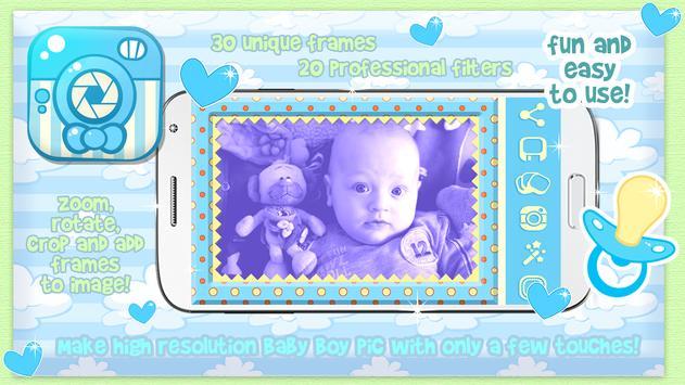 Baby Boy Photo Frame Pic Story apk screenshot