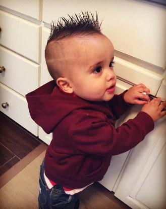 髪型 赤ちゃん