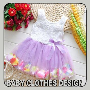 Baby Clothes Design poster