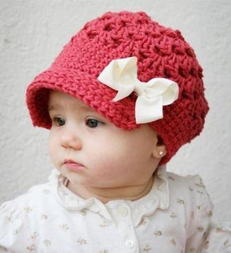 Baby Crochet Hat poster