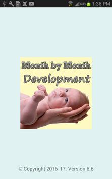Baby Development Month ByMonth poster