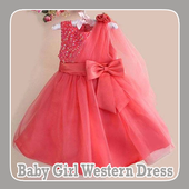 Baby Girl Western Dress icon