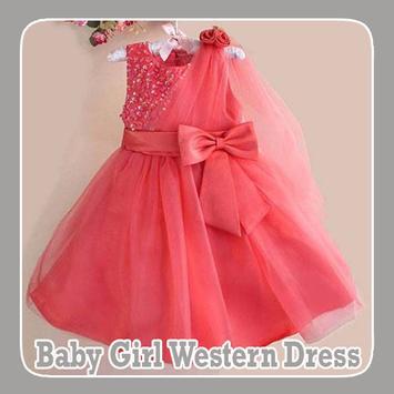 Baby Girl Western Dress poster