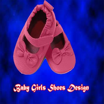 Baby Girls Shoes Design poster